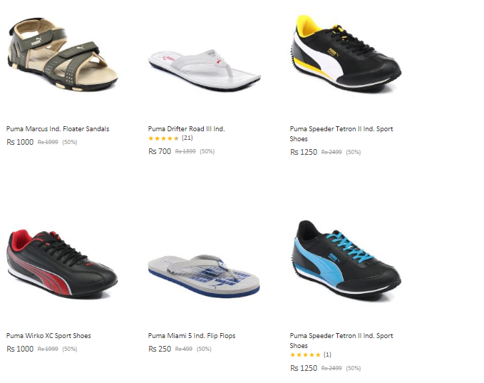 Snapdeal coupons for puma shoes   Holiday gas station free coffee ... b0f5d1c65