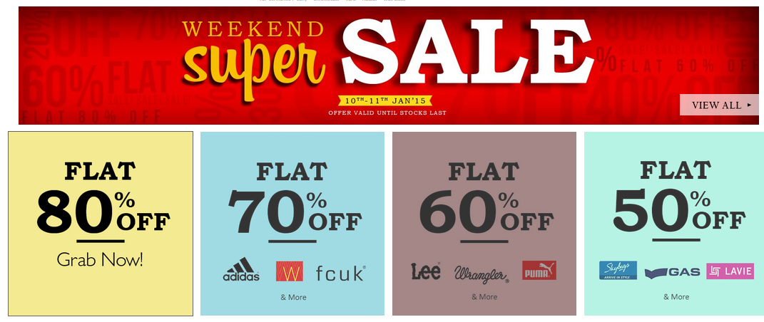 Snapdeal weekend super saleg fandeluxe Image collections