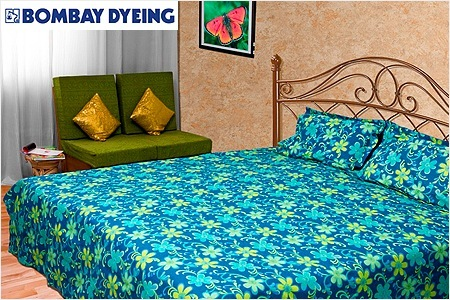 Bombay Dyeing Bedsheets Upto 55 Off + Extra 40 Off.