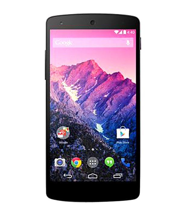 f6f120e1215 Snapdeal - LG Google Nexus 5 16 GB (Black) + Free back cover at Rs ...