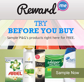rewardme free samples