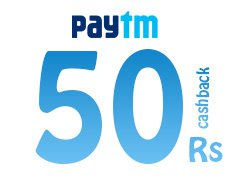 paytm Rs 50 cashback on Rs 1500 bill payment