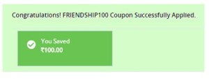 payumoney friendship day offer proof