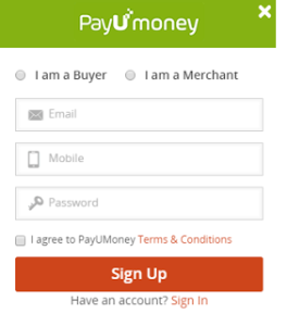 payumoney friendship day sign up