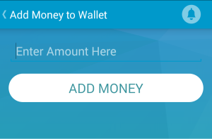 shmart wallet add money to wallet