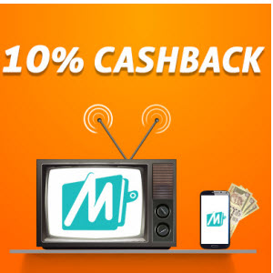 Mobikwik 10 cashback on dth & recharges
