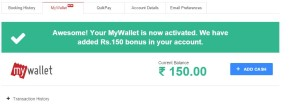bookmyshow Rs 150 cash free