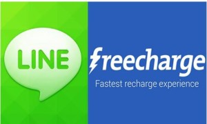 line freecharge Rs 50 cashback on Rs 20 code