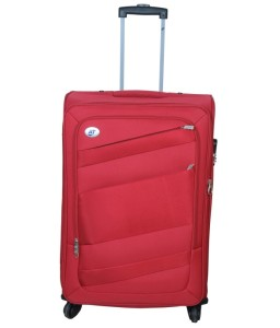 American Tourister Medium Size Impression Spinner Red 69 Cm 4 Wheel Trolley at Rs 3756 only