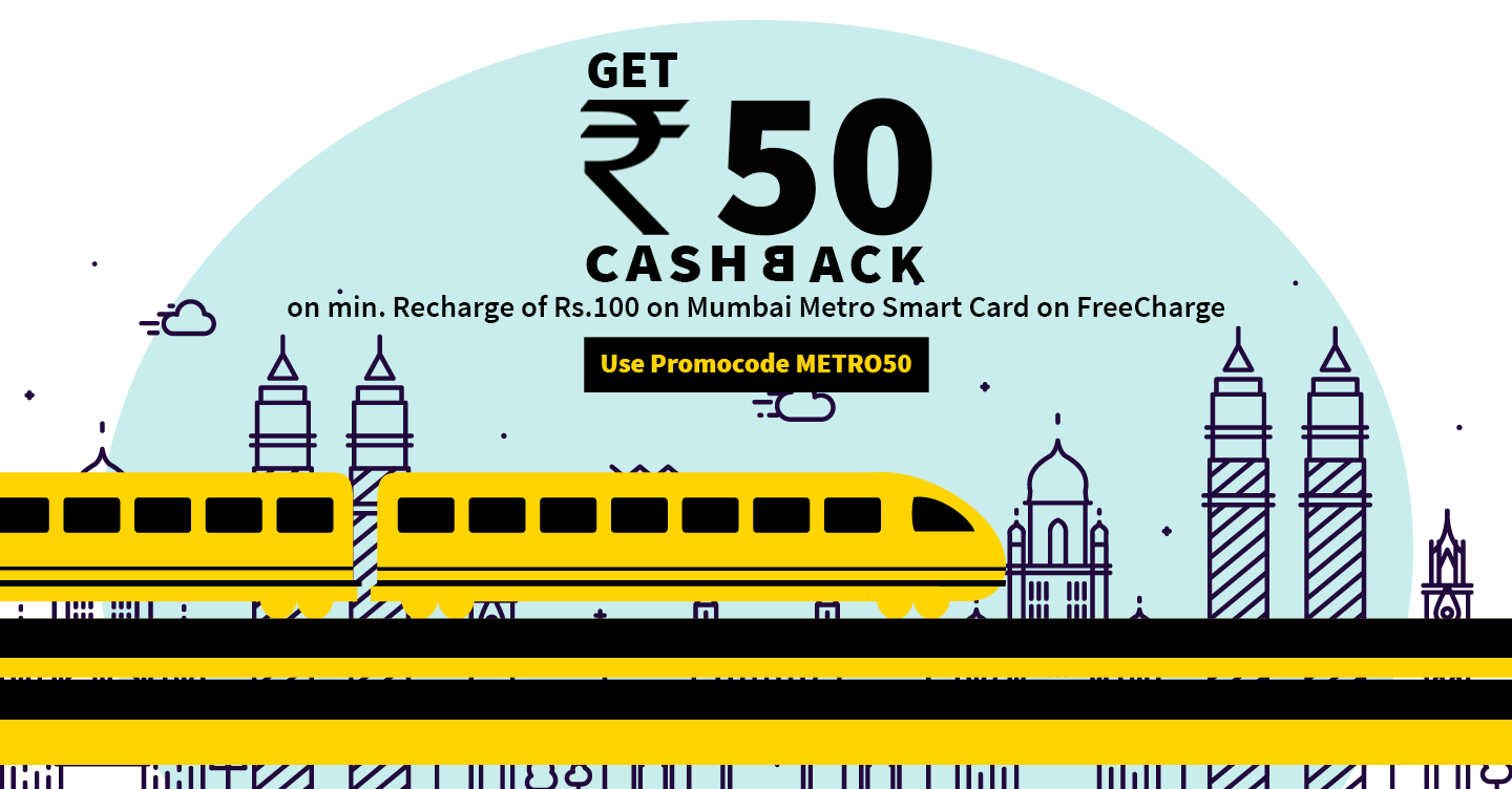 Updated) Freecharge – Get Rs 50 cashback on recharge/bill