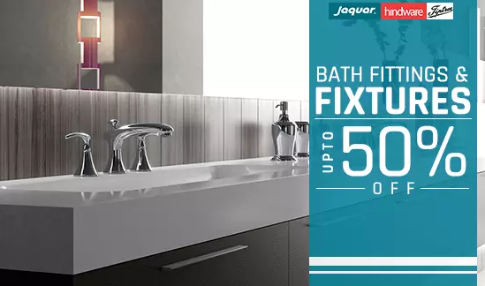 Bathroom Fittings Fixtures: Bathroom Fittings & Fixtures At Upto 40% Extra