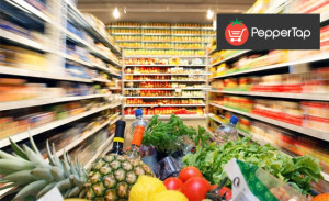 peppertap groceries flat Rs 150 discount + refer and earn