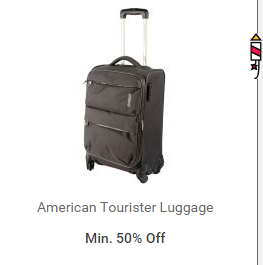 159950f4e315 Snapdeal - Get minimum 50% off on American Tourister Luggage Bags