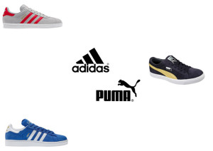 adidas and puma shoes
