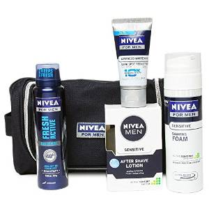 Amazon- Buy Nivea Men Grooming Kit at Rs 399 only