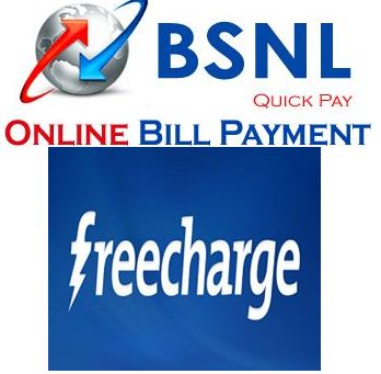 Freecharge-Pay BSNL landline bill and get 5% extra cashback
