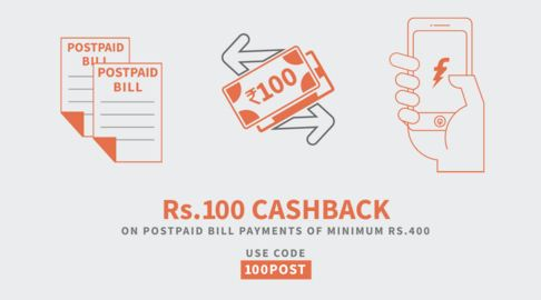 freecharge promo code for postpaid bill payment