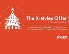 Myles Cars loot- Book a free ride worth Rs 500 and get a Power bank Absolutely Free