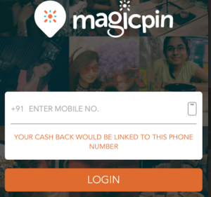 magicpin enter your mobile number, earn Rs 25 per referral