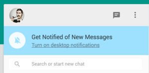 whatsapp web notifications