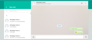 whatsapp web on laptop or PC how to use