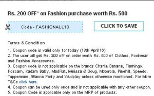 Firstcry- Get Flat Rs.200 off on Fashion purchase worth Rs 500 or More1