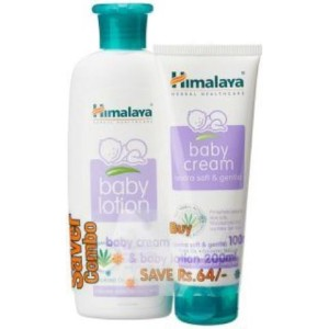 Himalaya Super Saver Combo - Baby Lotion 200ml and Cream 100g Rs 101 only snapdeal