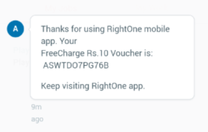 RightOne App - Post your first Job Quote & Get Rs 10