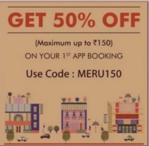 meru cabs get flat 50 off on cab booking