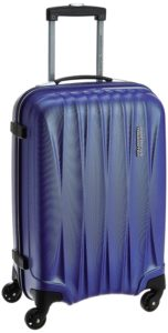Amazon - Buy American Tourister Polycarbonate 55 cms Midnight Blue Carry-On at Rs 3,550 Only