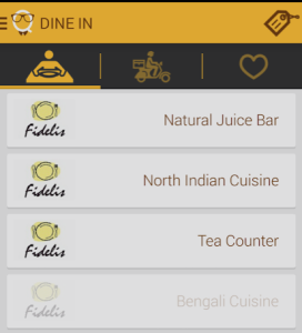smartq select a suitable restaurant for free food order Rs 100