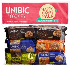 Amazon - Buy Unibic Assorted Cookies (Pack of 6), 450g at Rs 111 only