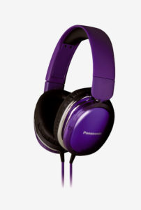 TataCliq - Buy Panasonic RP-HX350ME-V Over-Ear Headphone (Violet) at Rs 1099 only
