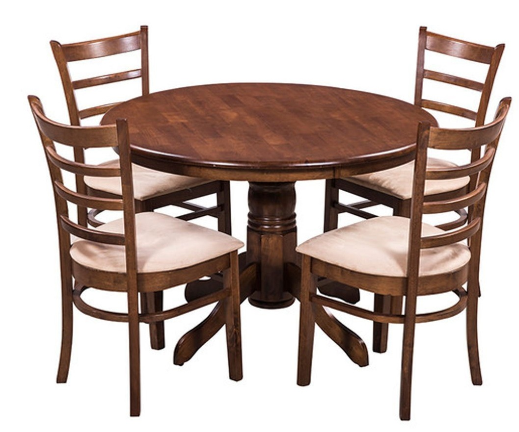 Amazon buy royal oak coco dining table set with 4 chairs for Dining table set deals