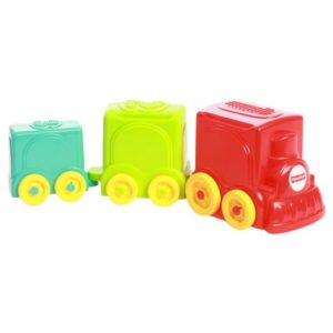 Amazon - Buy Fisher-Price Stack & Roll Choo Choo at Rs 184 only