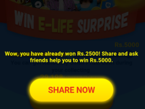 9apps get Rs 2500 on signing up