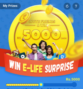 9apps refer your friends and win Rs 5000