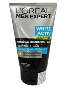Amazon - Buy L'Oreal Men Expert White Activ Oil Control Charcoal Brightening Foam 100ml at Rs 300 only
