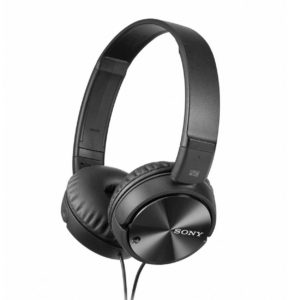 Amazon - Buy Sony MDR-ZX110NC On-Ear Noise Cancellation Headphones (Black) at Rs 1899 only