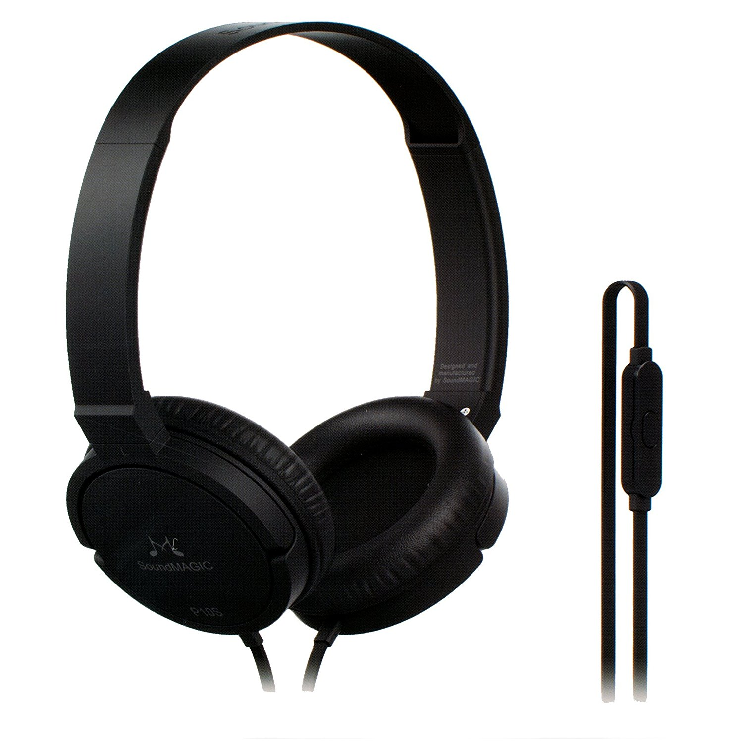 Amazon - Buy SoundMagic P10S Headphone with Mic(black, white colors) for just Rs.399(73% off)