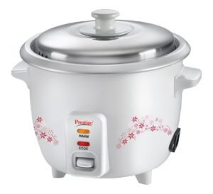 Amazon GIF 2017 - Buy Prestige Delight PRWO 1.0 1-Litre Electric Rice Cooker (White) at Rs 999 only