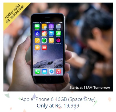 (Coming up) Paytm - MAHA BAZAAR 68th Republic Day Sale - iphone 6
