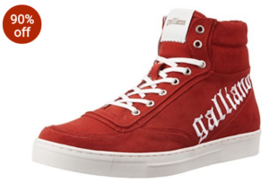 Flat 90% Off On Galliano Men's Shoes