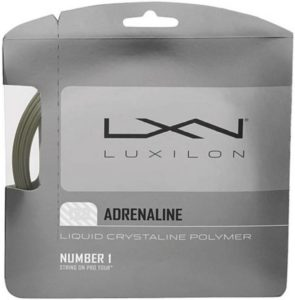 Flipkart - Buy Luxilon Adrenaline 16 Tennis String - 12.2 M (Grey) at Rs 483 only + Rs 40 Delivery