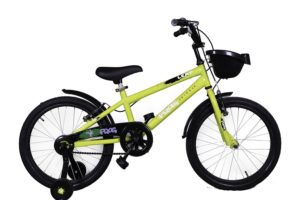 "Frog Leap 20"" Green Steel Kids' Recreation Cycle"