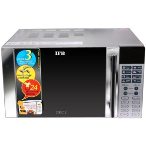 IFB 20SC2 20-Litre 1200-Watt Convection Microwave Oven (Metallic Silver) Rs 4389 only amazon