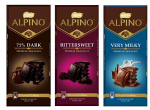 Snapdeal - Buy NESTLE ALPINO Premium Chocolates (Pack of 3) 270 g at Rs 301 only