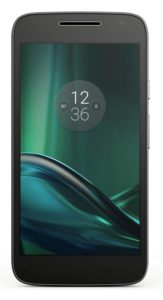Amazon - Buy Moto G Play, 4th Gen (Black) at Rs 8999 + Rs 1000 cashback in Amazon Pay Balance