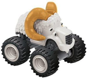 Flipkart - Buy Fisher-Price Nickelodeon Blaze and the Monster Machines Big Horn Die-Cast Truck  (White, Gold, Black) at Rs 637 only