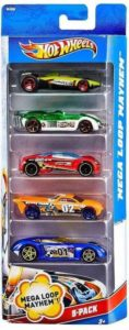 Flipkart -Buy Hot Wheels Five-Car Assortment Pack (Multi Color) at Rs 201 only